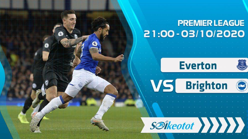 W88 Dự đoán Everton vs Brighton lúc 21h ngày 3/10/2020