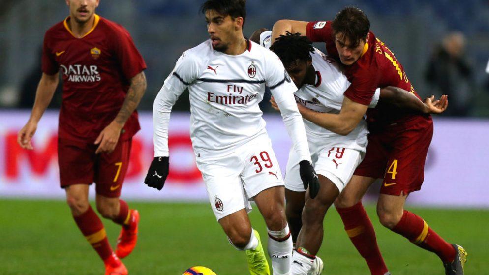 W88 Dự đoán AC Milan vs AS Roma lúc 2h45 ngày 27/10/2020