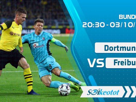 W88 Dự đoán Dortmund vs Freiburg lúc 20h30 ngày 3/10/2020