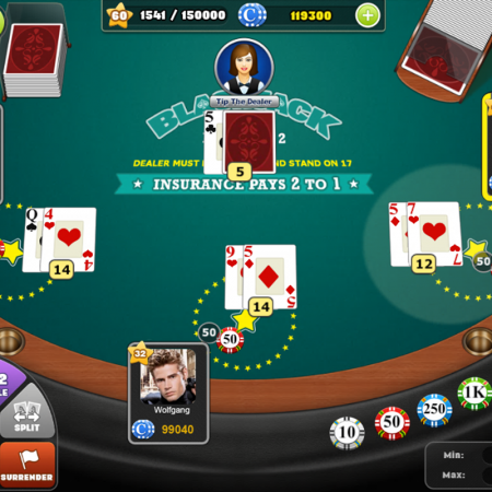 Mẹo chơi Blackjack bất bại