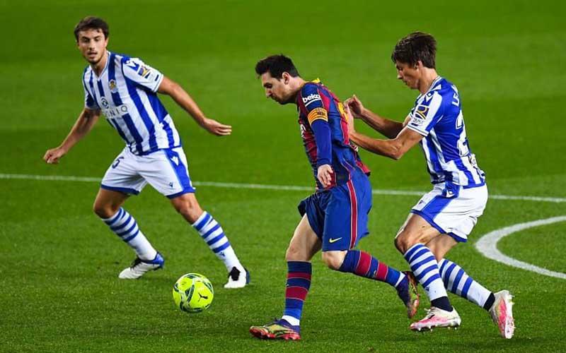 W88 Dự đoán Sociedad vs Barcelona lúc 3h00 ngày 14/1/2021