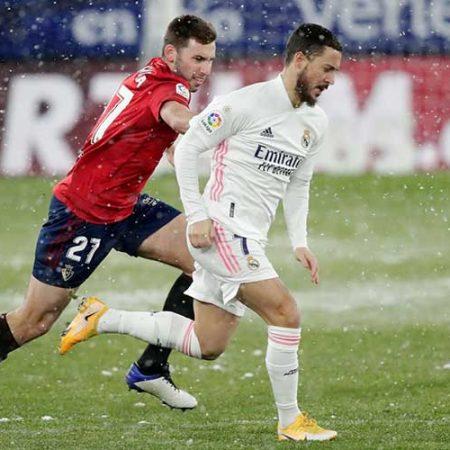 W88 Dự đoán Real Madrid vs Osasuna lúc 2h00 ngày 2/5/2021