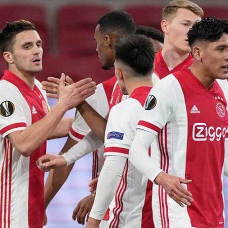 W88 Dự đoán Ajax vs Roma lúc 2h00 ngày 9/4/2021