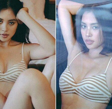 Hoa hậu Tiểu Vy sexy với bikini hai mảnh