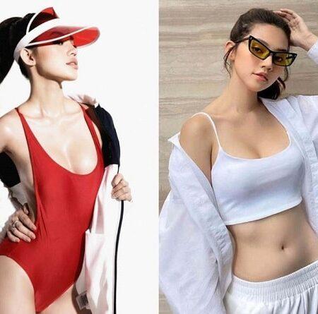 Jolie Nguyễn mướt mát khó cưỡng trong trang phục bikini