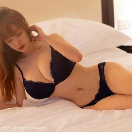Wang Yu Chun sexy bốc lửa với nội y