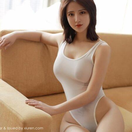 Xiuren No.03: Aimee nude lộ vòng 3 bốc lửa