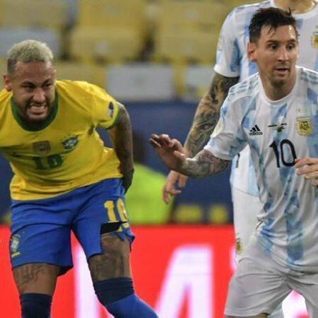 Lịch sử đối đầu Brazil vs Argentina, 2h ngày 6/9