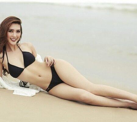 Chiêm ngưỡng body bốc lửa của hoa hậu bán dâm Nguyễn Đặng Tường Linh