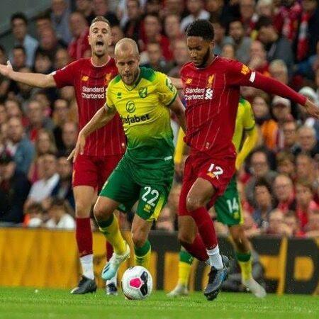 Nhận định kèo Norwich vs Liverpool 1h45 ngày 22/9
