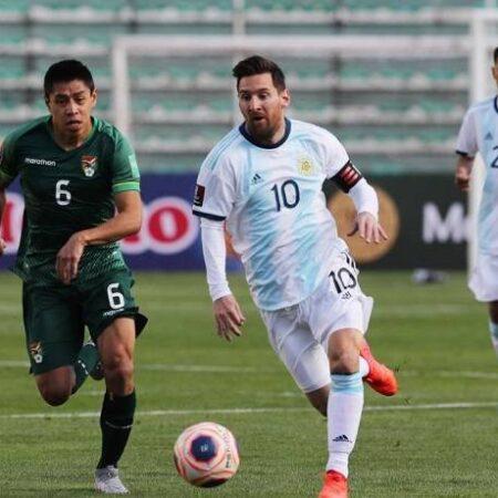 Phân tích kèo hiệp 1 Argentina vs Bolivia, 6h30 ngày 10/9