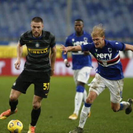 Phân tích kèo hiệp 1 Sampdoria vs Inter Milan, 17h30 ngày 12/9