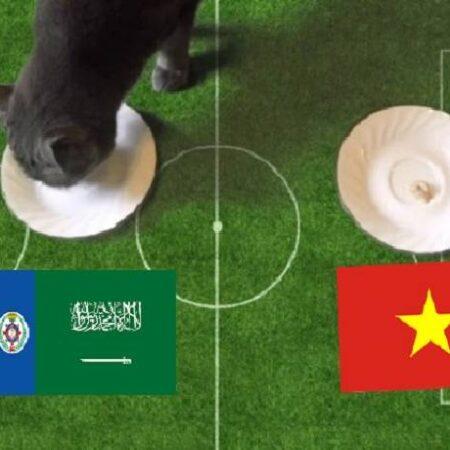 Tiên tri mèo Cass dự đoán Saudi Arabia vs Việt Nam, 1h ngày 3/9