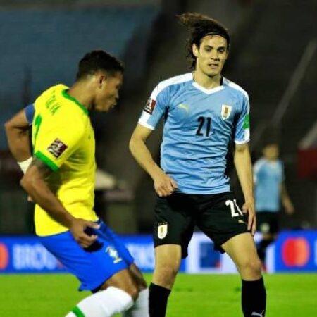 Biến động tỷ lệ kèo Brazil vs Uruguay, 7h30 ngày 15/10
