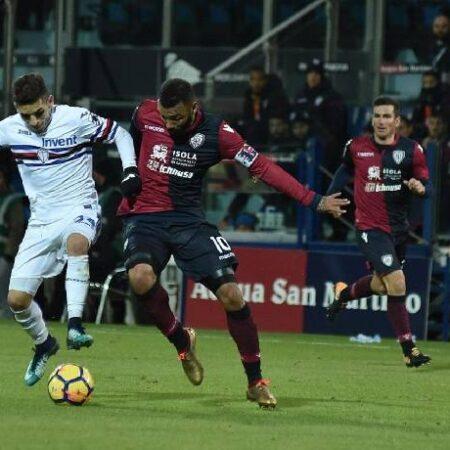 Biến động tỷ lệ kèo Cagliari vs Sampdoria, 17h30 ngày 17/10
