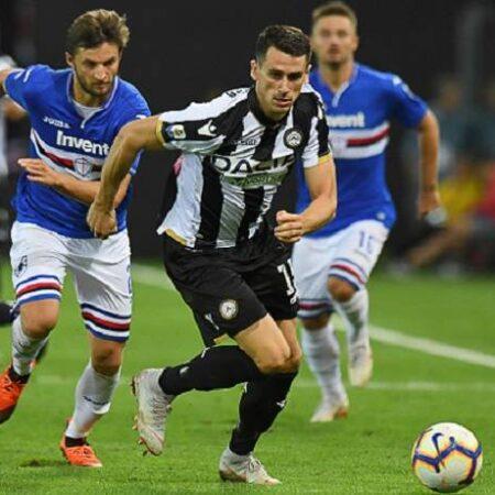 Nhận định kèo Sampdoria vs Udinese, 20h00 ngày 3/10