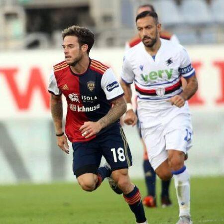 Phân tích kèo hiệp 1 Cagliari vs Sampdoria, 17h30 ngày 17/10