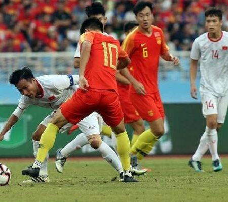 Soi bảng dự đoán tỷ số chính xác Trung Quốc vs Việt Nam, 0h ngày 8/10
