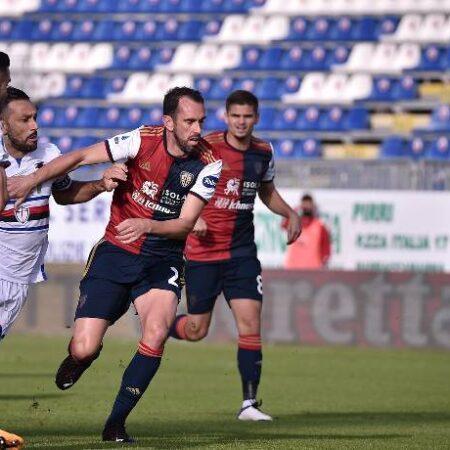 Soi kèo phạt góc Cagliari vs Sampdoria, 17h30 ngày 17/10