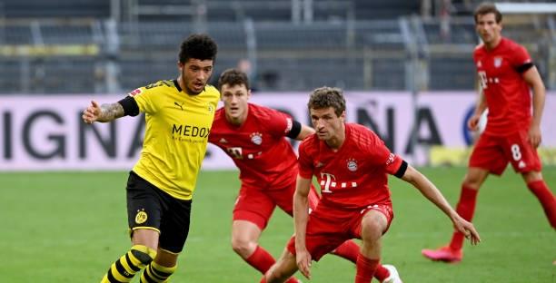 Dortmund vs Bayern Munich, Jadon Sancho, Dortmund, Bayern Munich, Bundesliga