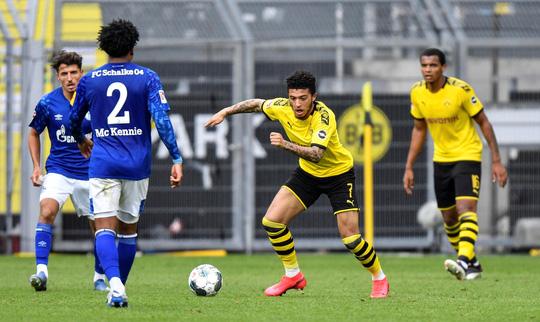 Bundesliga, kết quả Dortmund vs Schalke 04, Dortmund, Sancho, MU