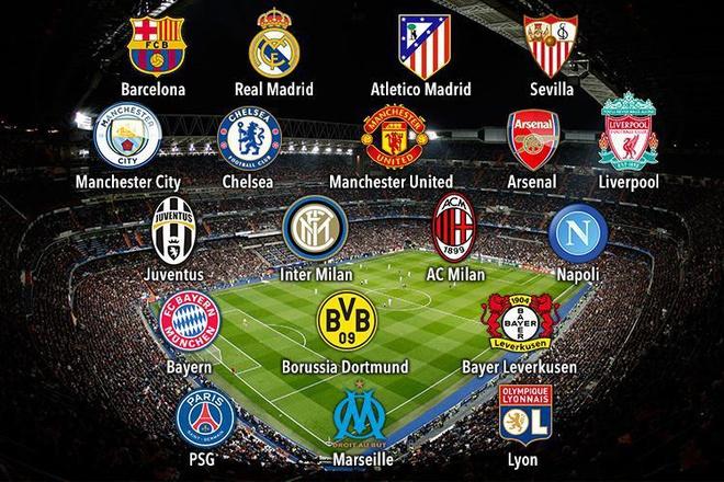 Man United và Barcelona muốn loại bỏ Champions League