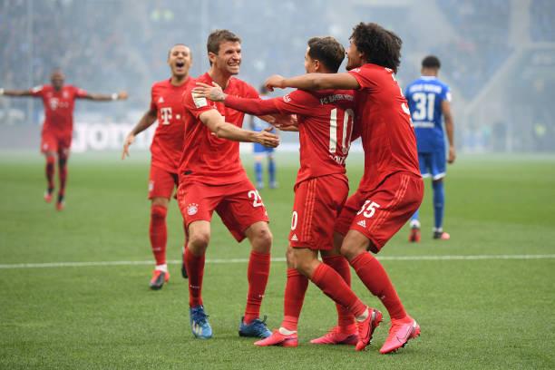 Kết quả Hoffenheim vs Bayern Munich, Bundesliga, Hoffenheim, Bayern Munich
