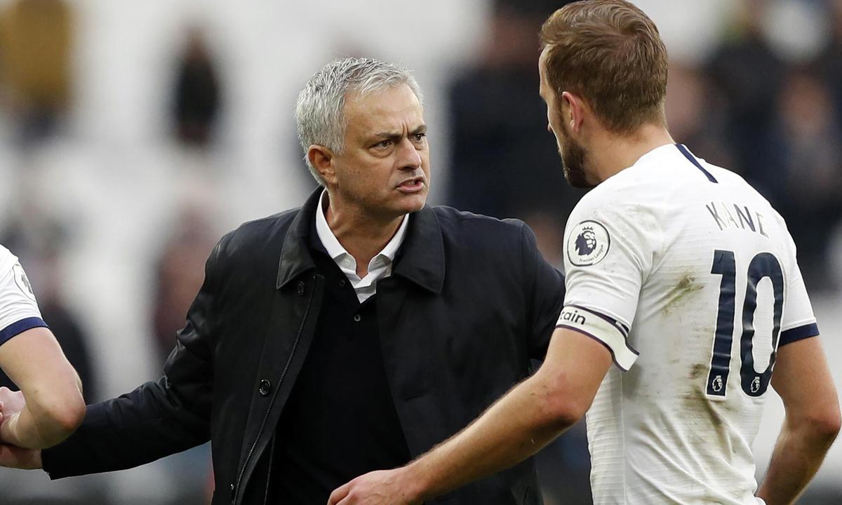 Kane thừa nhận bản thân hợp với phong cách làm việc và triết lý của Mourinho. Ảnh: PA